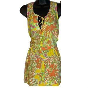 Lilly Pulitzer Yellow and Pink Romper